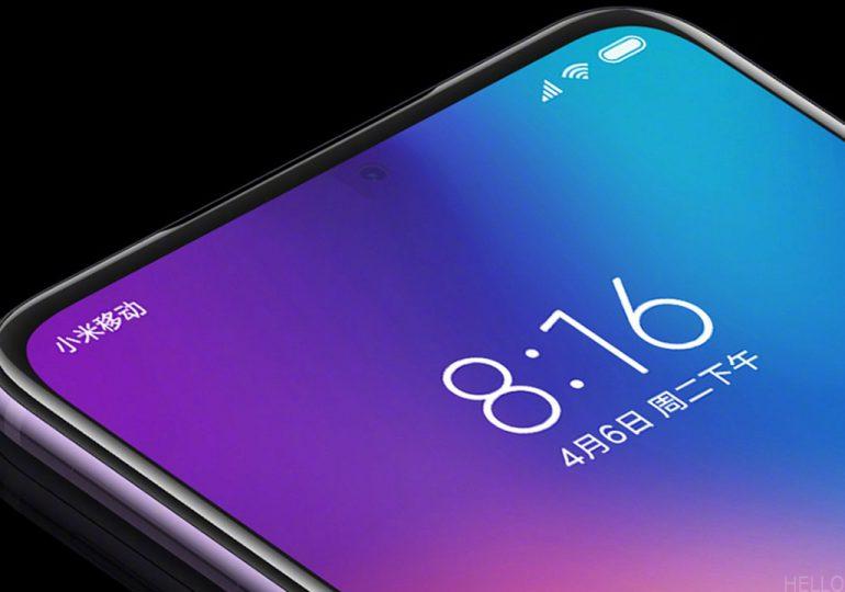 Kijelző alatti szelfikamerás okostelefonok?